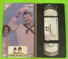 VHS film STANLIO & OLLIO 3 La scala musicale Liberta'I monelli CURCIO(183)no dvd