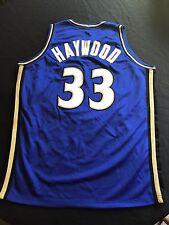 Washington Wizards Brendan Haywood Unsigned Custom Jersey