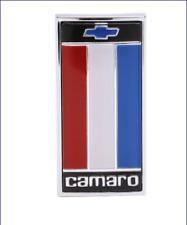 1975 - 1977 Camaro Front Nose Header Pane Emblem Red White Blue Made  USA SHARP