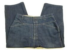 Marithe Francois Girbaud Denim Blue Jeans Pants Mens Size 42x24 Utility Pocket