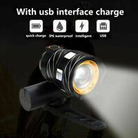 15000LM Rechargeable XM-L T6 LED MTB Bicycle Light Bike Front Headlight with USB