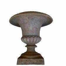 """Antique Cast Iron Urn Garden Planter 12"""""""