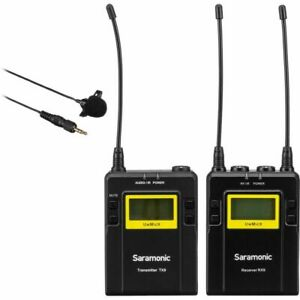 Saramonic UwMic9 TX9 + RX9 Camera-Mount Wireless Omni Lavalier Microphone Kit