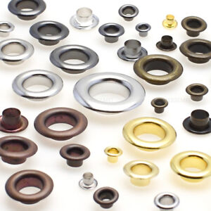 Eyelet for Leather Craft Grommet Banner 3 4 5 6 8 10 13mm with Washers