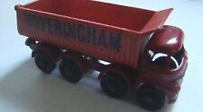 Matchbox Regular Wheel 17 Hoveringham Tipper Dump Truck Red Base
