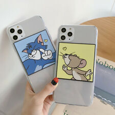 Clean Tom And Jerry TPU Phone Case Cover For iPhone 11 Max XR X 7 8 Plus SE 2020