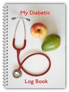 DIABETES BLOOD SUGAR, CARBOHYDRATE INSULIN MEDICATION LOG BOOK RECORD 52 WEEK 02