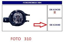 63440 FARO FENDINEBBIA (FOG LAMPS) SX TOYOTA AVENSIS 10/06->03/09-YARIS 03->05
