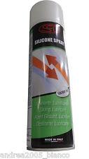 Grasso silicone spray lubrificante scivolante 500 ml catena moto porte sezionali
