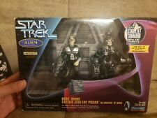 New Star Trek Collection Series Edition Borg Drone Captain Jean-Luc Picard