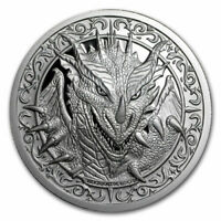 The Destiny Coin 2 - The Dragon - 2 oz .999 FINE Silver BU Round - IN STOCK!!