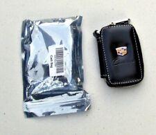 Elegant  Leather car key bag key ring key chain for CADILLAC Black