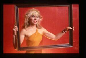 Blondie Debbie Harry Sexy Vintage Studio Photo Shoot 35mm Transparency