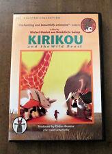 Kirikou and the Wild Beast dvd