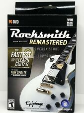 Rocksmith 2014 Edition Remastered - PC - Brand New - Real Tone Cable Included
