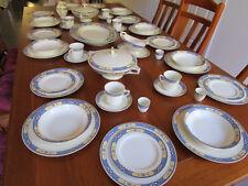 J&G MEAKIN England Baroda Complete 76 piece Dinner Set, Circa 1930s Antique