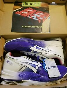 ASICS GEL SAGA LYTE EXTRA BUTTER COTTONMOUTH PURPLE WHITE PINK H32AQ-3601 DS 12