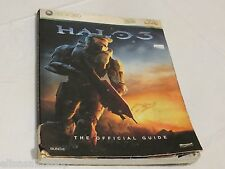 Xbox 360 Halo 3 the official game guide Microsoft bungie POOR condition strategy