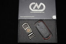 Golf Mk5 VW Touran Genuine Leather Hand Made Key Case Cover KR0018