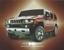 Truck Brochure - Hummer - H2 - Limited Edition Sedona Metallic - 2009 (T2406)