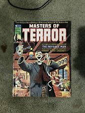 """MASTERS OF TERROR #2 - CGC 9.6 WP - NM+ H.G. WELLS """"INVISIBLE MAN"""""""