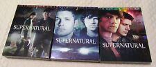 Supernatural Seasons 1-3 DVD