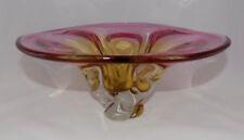 Bowl Pink Bohemian & Czech Art Glass