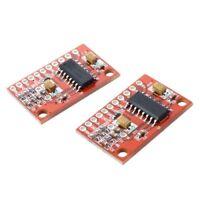 2 pcs 2 Amplifier channel audio amplifier board 3W PAM8403 Module CT Y6R4 K U7X1