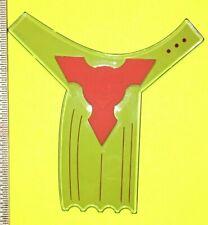 GEOFLEX BEARD NINJA ~ BEARD SHAPING TOOL ~ TRANSPARENT STYLING MAN FACE STENCIL