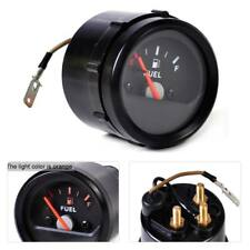 "2"" 52mm Universal Mechanical Motorcycle Fuel Level Gauge Meter E-1/2-F Pointer"