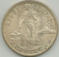 1944-S USA-Philippines 50 Centavos Silver Coin #  14