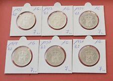Niederlande  1 Gulden , wählen Sie unter Jahrgang  1922  bis  1931 , Silber