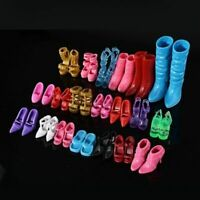 12 Pair/lot Fine Orignal Shoes For Dolls Toy Shoes High Quality Doll Accessories