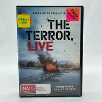The Terror, Live (DVD, 2013) Regions 2&4 With Ha Jung‑woo In Like New Condition