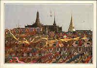 Thailand Asien Asia postcard BANGKOK Wat Phra Keo traditioneller Tempel Temple