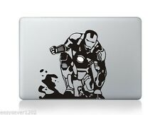 "Black Apple Macbook Pro Air 13"" Mac Sticker Decal Skin Vinyl Cover For Laptop"