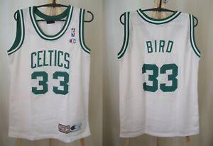 Boston Celtics #33 Larry Bird Size S Champiom Basketball shirt jersey maillot