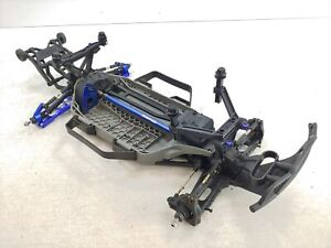 Traxxas Slash 4x4 1/10 LCG Short Course Truck UPGRADED Roller Slider Chassis Use