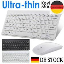 Für PC Computer Kabellos Funk USB Wireless Keyboard Tastatur Maus Bluetooth DE