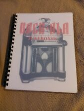 Rock-Ola Jukeboxes 1935-1987 (published by Frank Adams & Amr Manual Books) *New*