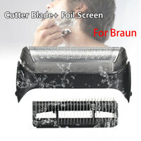 10B/20B Shaver Foil & Cutter Set Replacement for Braun 190 180 170 1735 1775