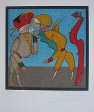 "Mihail Chemiakin""Carnival at St. Petersburg"" Original Lithograph S/N"