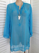 Cotton Embroidered Long Sleeve Tops & Blouses for Women