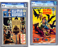 ALL STAR WESTERN #10-11 CGC 8.0-8.5 1ST & 2ND JONAH HEX TONY DEZUNIGA CVRS 1972