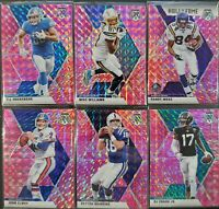 2020 MOSAIC FOOTBALL - PINK PRIZM - COMPLETE SET - SINGLES - YOU CHOOSE - PYC