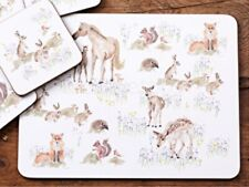 Creative Tops, National Trust, 6x placemats & 4x coasters, New Forest Toile BNIB