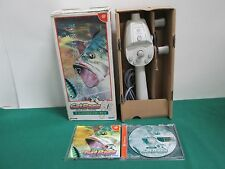 Dreamcast -- Get Bass with Fishing Rod Controller -- JAPAN. work & fully. 24448