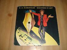 """B.A. ROBERTSON - KNOCKED IT OFF (ASYLUM 7"""")"""