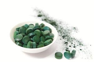 **Organic Spirulina** 500 tablets (500mg) Detox,Weight loss,energy booster