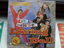 CLIFF RICHARD WITH HANK MARVIN & THE YOUNG ONES, LIVING DOLL / FLOWERS ARE HAPPY